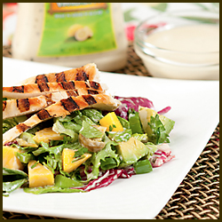 Tropical Grilled Chicken & Mango Salad